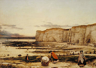 Kent Painting - Pegwell Bay, Kent - A Recollection Of October 5th 1858 by William Dyce