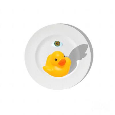 Hong Kong Digital Art - Peking Duck 20150711 Whi by Wingsdomain Art and Photography