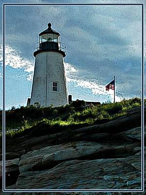 Pemaquid Point Lighthouse Original by Joy Nichols