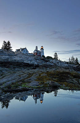 Lighthouses Photograph - Pemaquid Point Lighthouse by Juergen Roth