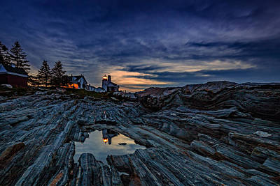 Downeast Photograph - Pemaquid Reflections by Rick Berk