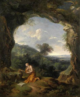 Painting - Penitent Magdalene by Carlo Antonio Tavella