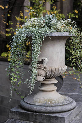 Penn State University Photograph - Penn State Flower Pot  by John McGraw
