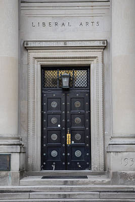 Penn State University Photograph - Penn State University Liberal Arts Door  by John McGraw