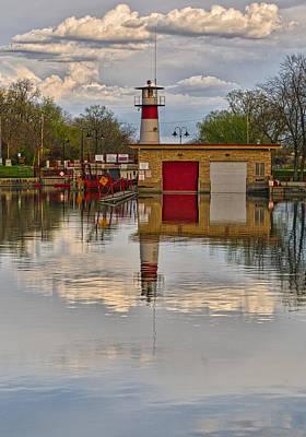 Photograph - Tenney Lock 2 - Madison - Wisconsin by Steven Ralser