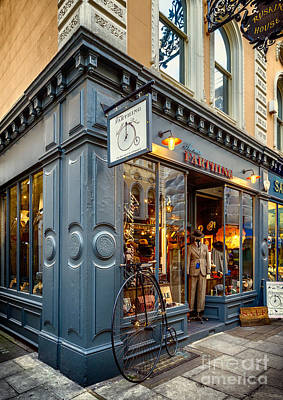 Penny Farthing Photograph - Penny Farthing Shop by Adrian Evans
