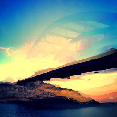 Pennybacker Bridge Original by Christy LaSalle