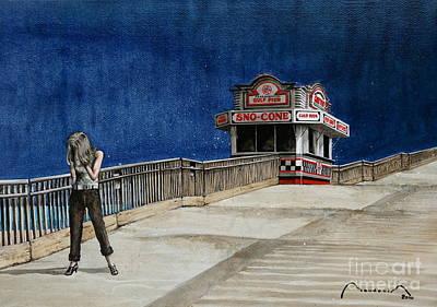 Pensacola Headache Print by Alain Baudouin