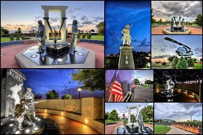 Pensacola Veterans Park Print by JC Findley