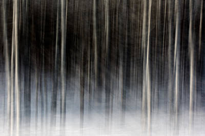 Abstract Movement Photograph - Penumbra by Todd Klassy