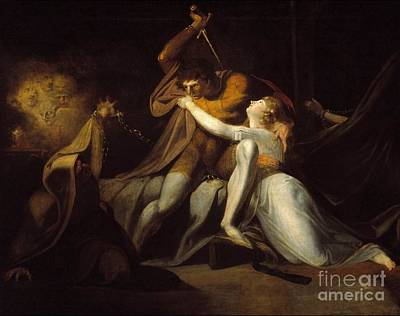 Percival Delivering Belisane From The Enchantment  Print by Henry Fuseli