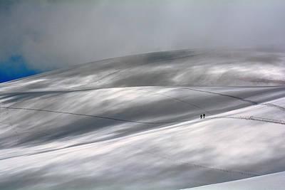 Footprints Photograph - Perennial Glacier by Edoardo Gobattoni