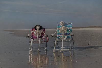 Skull Photograph - Perfect Pair by Betsy C Knapp