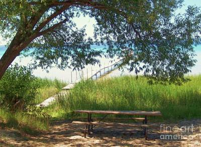 Perfect Picnic Spot Print by Desiree Paquette