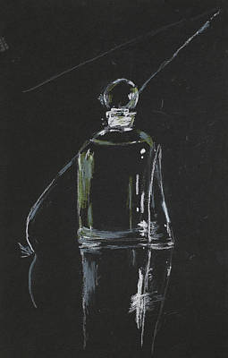 Perfume Bottle Print by Dan Comaniciu