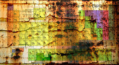 Periodic Table Of Elements Original by Marco Oliveira