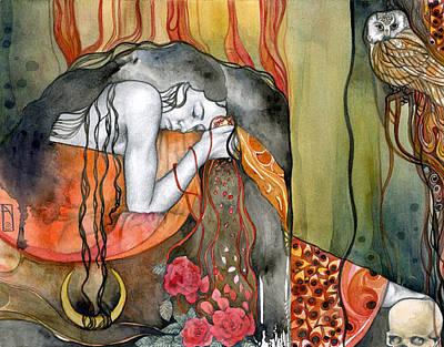 Goddess Mythology Painting - Persephone by Patricia Ariel