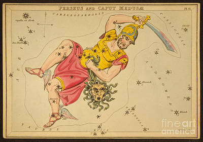 Perseus And Caput Medusae Print by Science Source