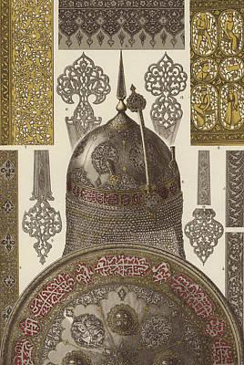 Persian Metalwork Print by German School