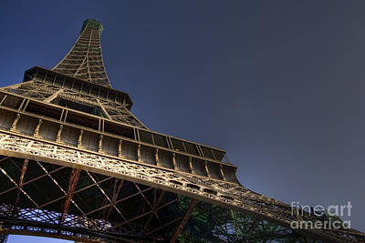 Eiffel Tower Photograph - Perspective by Sophie De Roumanie