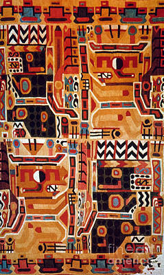 Peru: Tunic Fragment Print by Granger