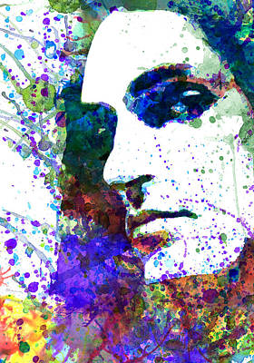 Steele Mixed Media - Peter Steele by Dante Blacksmith