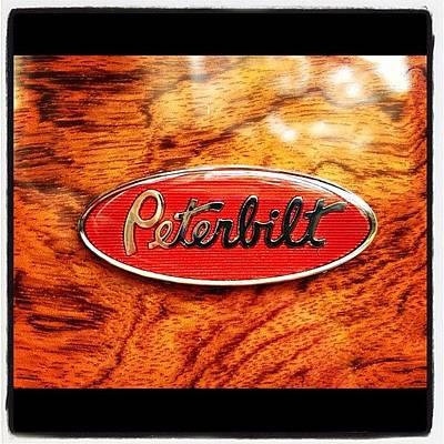 Truck Photograph - #peterbilt #truck #onlyinusa #usa #toy by Danielle Smith