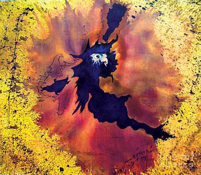 Shock Painting - Pete's Speed Of Light by Albert Puskaric
