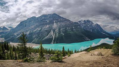 Banff Canada Photograph - Peyto Lake Banff by Joan Carroll