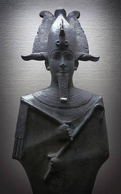 Pharaoh Of Egypt Print by Daniel Hagerman