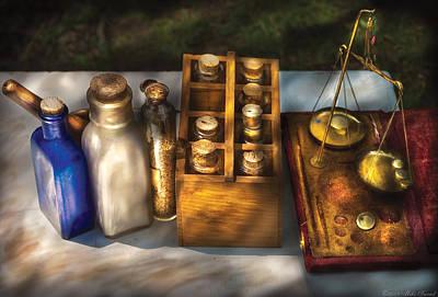 Pharmacist - Field Medicine Print by Mike Savad