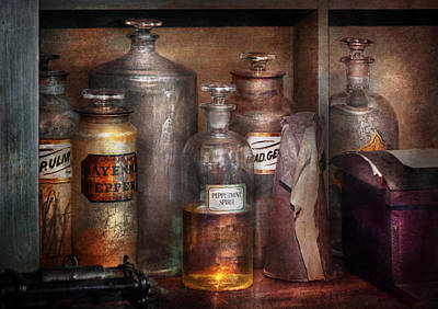 Victorian Photograph - Pharmacy - That's The Spirit by Mike Savad
