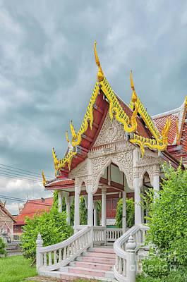 Phetchaburi Temple In Thailand Print by Antony McAulay
