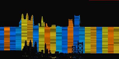 Philadelphia Digital Art - Philadelphia 6 by Alberto RuiZ