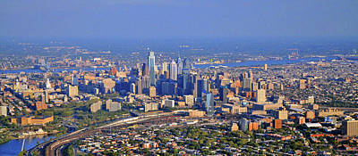 Philadelphia Aerial  Original by Duncan Pearson