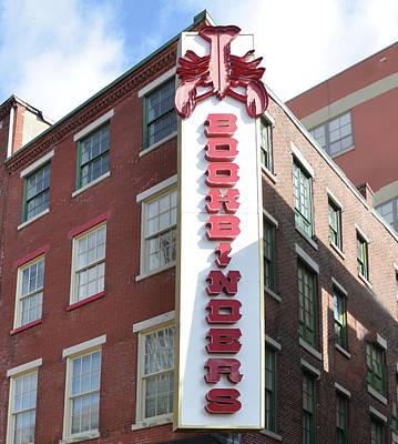 Philadelphia - Bookbinders Print by Bill Cannon
