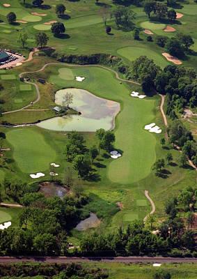 Philadelphia Cricket Club Militia Hill Golf Course 3rd Hole Print by Duncan Pearson
