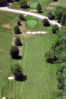 Philadelphia Cricket Club St Martins Golf Course 3rd Hole 415 West Willow Grove Ave Phila Pa 19118 Original by Duncan Pearson