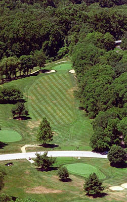 Philadelphia Cricket Club St Martins Golf Course 4th Hole 415 W Willow Grove Ave Phila Pa 19118 Original by Duncan Pearson