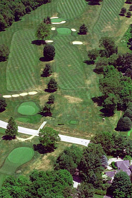 Philadelphia Cricket Club St Martins Golf Course 7th Hole 415 W Willow Grove Ave Phila Pa 19118 Print by Duncan Pearson