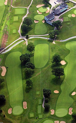 Philadelphia Cricket Club Wissahickon Golf Course 2nd Hole Print by Duncan Pearson