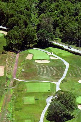 Philadelphia Cricket Club Wissahickon Golf Course 3rd Hole Print by Duncan Pearson