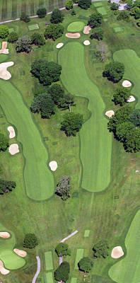 Philadelphia Cricket Club Wissahickon Golf Course 4th Hole Print by Duncan Pearson