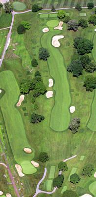 Philadelphia Cricket Club Wissahickon Golf Course 7th Hole Print by Duncan Pearson
