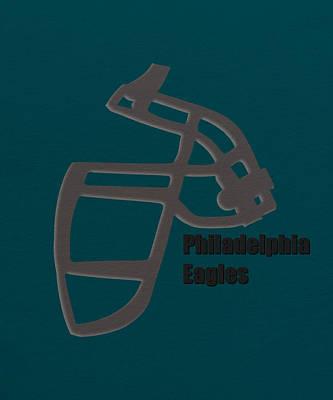 Philadelphia Eagles Retro Print by Joe Hamilton