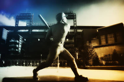 Philadelphia Phillie Mike Schmidt Print by Bill Cannon