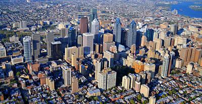 Philly Skyline Photograph - Philadelphia Rittenhouse Squarea 0471 by Duncan Pearson