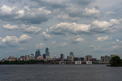 Photograph - Philadelphia Skyline Across The Delaware River by Terry DeLuco