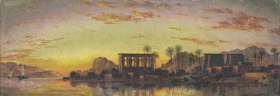 Philae The Beautiful Print by Edward William Cooke