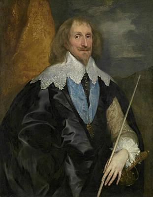 Royalty Painting - Philip Herbert, 4th Earl Of Pembroke by Anthony van Dyck